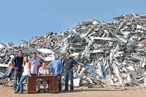 metal recycling experience